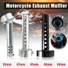 Motorfiets Kan Db Killer Silencer Noise Sound Eliminator Uitlaat Verstelbare Muffler Silencer 35 Mm/42 Mm/45 Mm/48 Mm/60 Mm