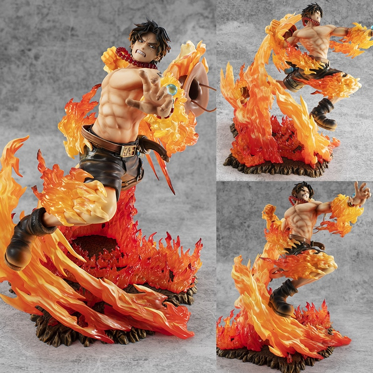 NEUE Amine One Piece POP Portgas D Ace MAX 15th Anniversary Special Editi GK Statue PVC Action Figure Sammeln Modell spielzeug Geschenk