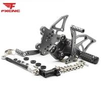 for kawasaki ninja 300 250 2013 2014 2015 2016 cnc aluminum alloy motorcycle rearset footrest footpeg pedal foot peg rear set