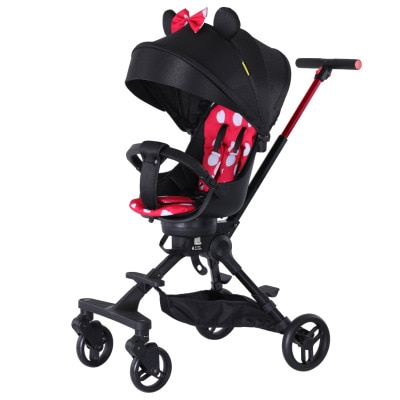 Lightweight stroller foldable high landscape stroller 1-5 years old stroller can sit and walk the baby artifact stroller enlarge