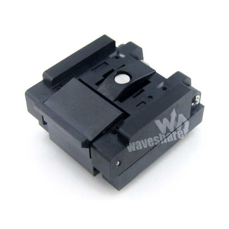 Qfn20 mlp20 mlf20 QFN-20BT-0.5-01 qfn enplas ic teste burn-in soquete adaptador de programação 4x4mm 0.5 passo + frete grátis
