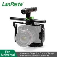 lanparte universal camera cage for miroless camera dslr camera 5d2 5d3