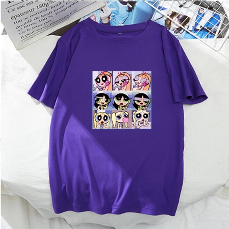 ¡Moda de verano 2020! Camiseta Harajuku Kawaii con estampado de dibujos animados para chica
