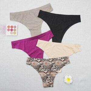 3pcs/lot Leopard Women Low Waist G String  40 Seamless Panties  Thong  Plus Size Underwear 30