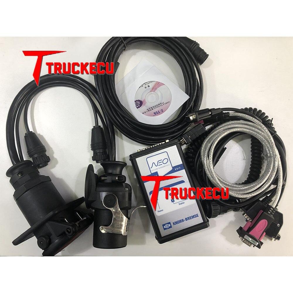 Para KNORR-BREMSE para KNORR-BREMSE interfaz UDIF herramienta de diagnóstico de camiones diesel knorr diagnóstico de camiones KNORR NEO UDIF interfaz