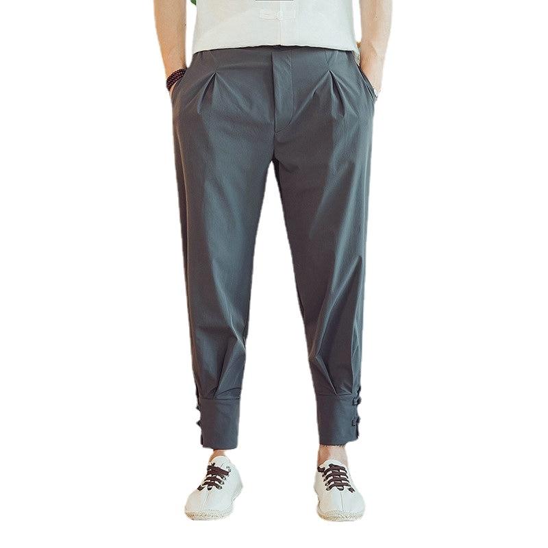 النمط الصيني سراويلي حريمي الشارع الشهير الخريف Sweatpants Sweatpants غير رسمية المرقعة الكونغ فو اليابانية بنطلون كيمونو السراويل G227
