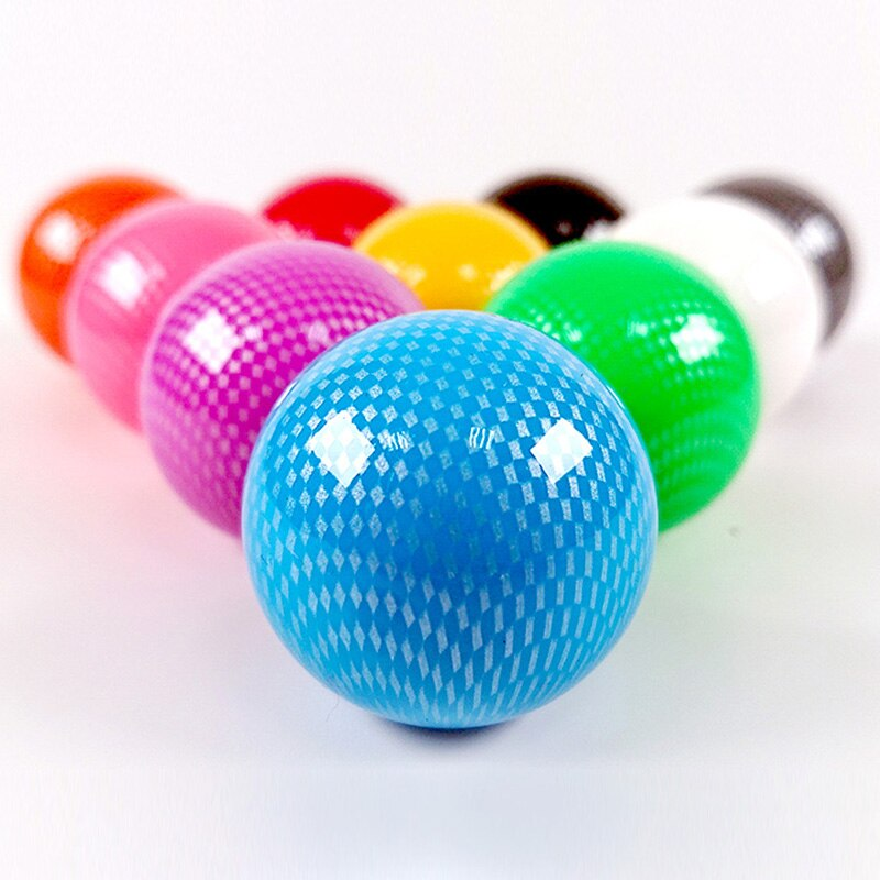 Arcade Replacement KDiT Fine Mesh Carbon Fiber Ball Top Topball Joystick Handle Knob for Arcade ZIPPY SANWA Joysticks Handle