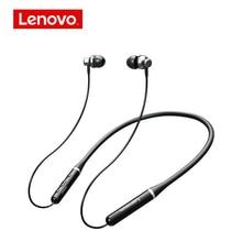 Беспроводные наушники вкладыши Lenovo XE05 Pro, Bluetooth наушники с шейным ободом, TWS наушники, IPX5 водонепроницаемая Спортивная стереогарнитура с микрофоном