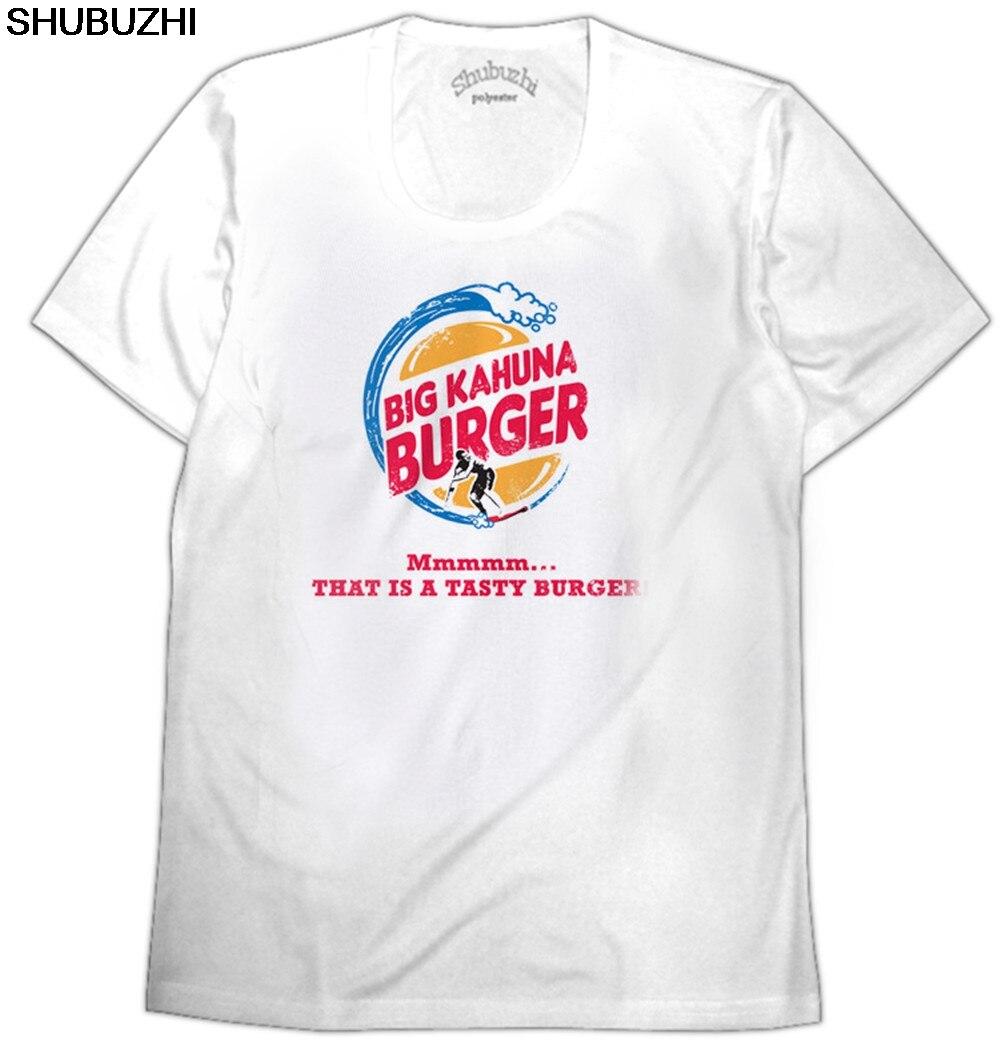 Camiseta de algodón con cuello redondo de manga corta, de gran calidad, de Kahuna