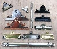 butterfly board clip with pen loop. folder accessories 72 100 120 145 200mm