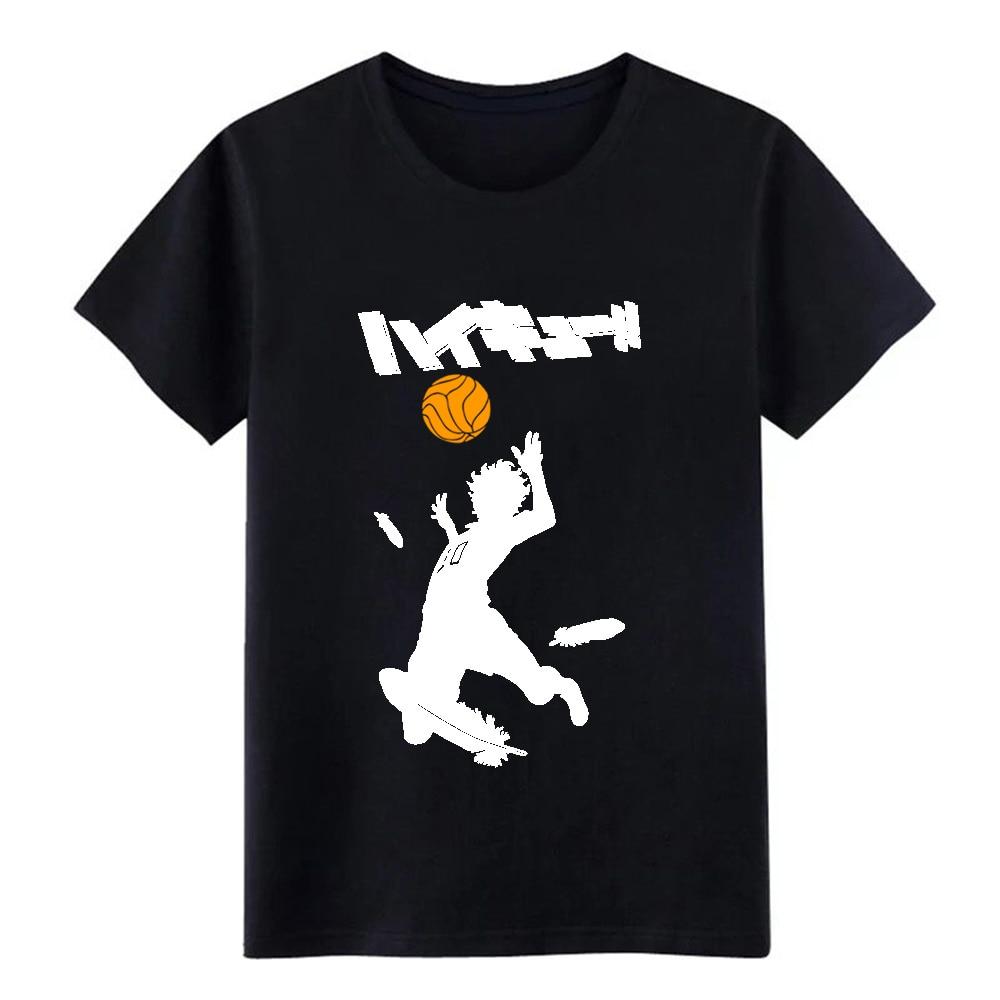 New Haikyuu Volleyball T Shirt Design Tee Shirt Size S-3xl Natural Fitness New Style Summer Leisure Shirt Streetwear Men T Shirt