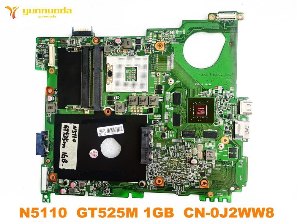 الأصلي لأجهزة الكمبيوتر المحمول ديل N5110 اللوحة الأم N5110 GT525M 1GB CN-0J2WW8 اختبار جيد شحن مجاني