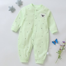 free shipping! Spring and autumn BABY BODYSUIT single breasted long sleeve baby hatsuit