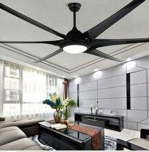 100 inch Amerikaanse luxe industriële wind plafond ventilator dc110V/220 V Nordic creatieve grote Plafond Fans Ventilador De Techo