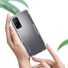 Per Xiaomi MI 10T 5G / MI 10T Pro 5G custodia NILLKIN Nature custodia morbida in Silicone TPU trasparente per Xiaomi MI 10T Lite 5G custodia