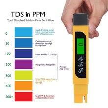 Nowo Tester jakości wody TDS zakres 0-9999ppm miernik do testowania twardości wody