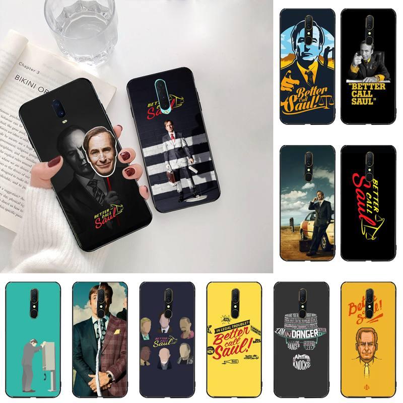 KPUSAGRT Melhore a Chamada Better Call Saul DIY phone Case cover Shell For Oppo A5 A9 2020 A5S Reno2 z Renoace 3pro Realme5Pro
