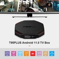t95plus rk3566 quad core android 11 0 4 0 wifi tv hdr10 display smart set top box wifi 1000m lan usb 3 0 4k hd set top box