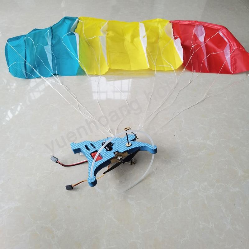 1set 81CM RC Electric Paraglider PNP Kit Indoor Mini Aerobatics Flight Paragliding Stunt Flying Paramotor with Brushed Motor enlarge
