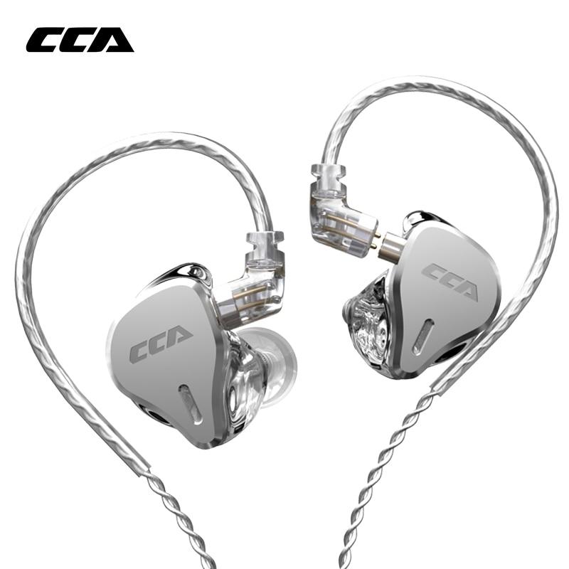 سماعات أذن CCA CS16 8BA مع وحدات محرك, سماعات HIFI ذات 8 محركات متوازنة لأجهزة ASX ASF C16 CA16