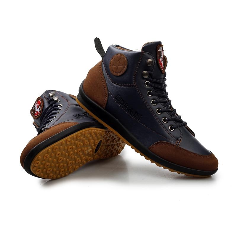 Botas de Couro de Alta Botas de Outono e Verão Sapatos de Moda Newbeads Qualidade Britânico Casual Retro Rendas Confortáveis Sola Macia