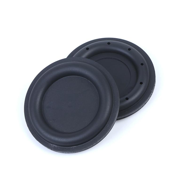 Latest 2Pcs Bass Diaphragm Passive Radiator Speaker Vibration Accessories