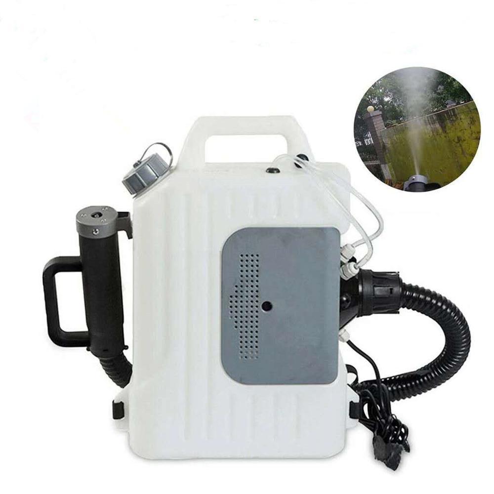 10L 1400 واط الكهربائية على ظهره ULV رش مبيد ، حديقة الباردة ماكينة تعفير للآفات و البعوض المخدرات البخاخ 110/220 فولت
