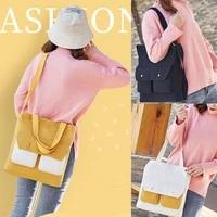 korean style portable canvas bag student one shoulder messenger bag literary fan cloth pocket japanese ladies fashion handbag