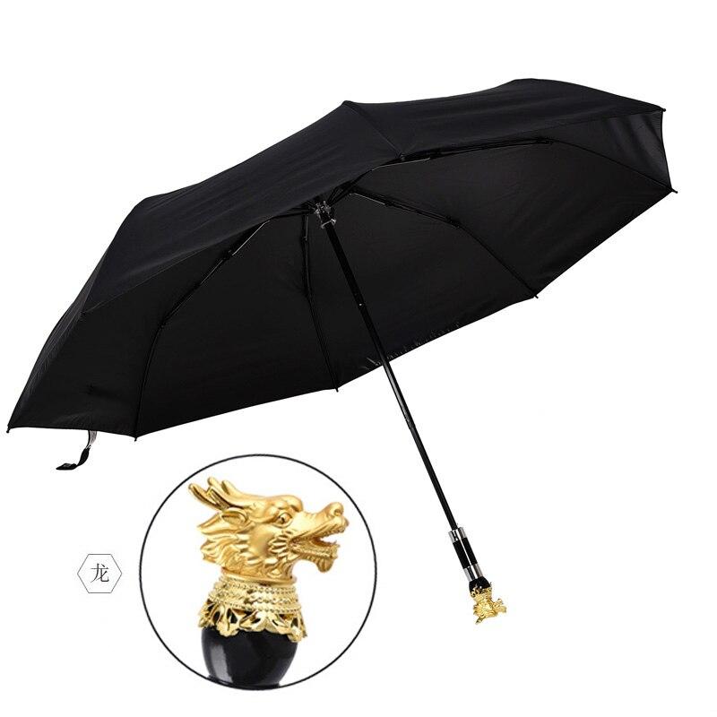 Folding luxury umbrella large fashion outdoor uv protection windproof adult business umbrella guarda chuva Rain Gear BD50UU enlarge