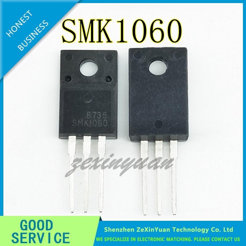10 teile/los SMK1060 SMK1060F 1060 TO-220F 10A 600V Power MOSFET transistor