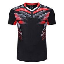 Nouveaux chemises de Badminton hommes, t-shirt de sport chemises de Tennis homme, t-shirt de tennis de table, maillots dentraînement de sport de Fitness à séchage rapide