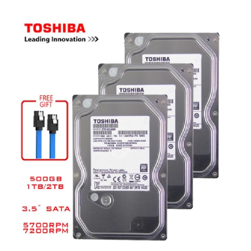 توشيبا 4 تيرا بايت 2 تيرا بايت 1 تيرا بايت 500GB الداخلية القرص الصلب القرص الصلب HDD HD SATA III 3.5