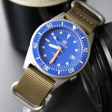 Steeldives 1979 montres de plongée hommes 200m hommes montres automatique mécanique étanche 200m japon NH35 saphir montre automatique hommes