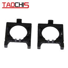 TAOCHIS 2 pièces voiture LED porte-ampoule adaptateur prises Base pour Ford Focus 2 Fiesta MK2 H7 halogène support de lumière Base de lumière r30