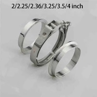 22 252 363 253 54 inch v band clamp malefemale flange kit v band turbo exhaust pipes car accessories
