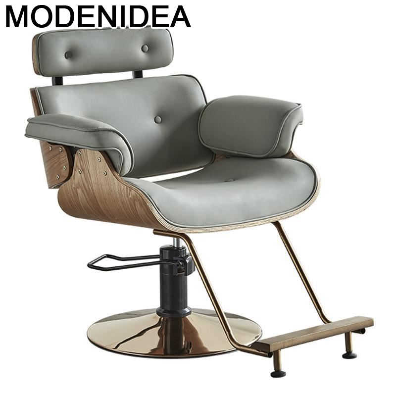 Парикмахерское кресло Cabeleireiro Sessel Mueble De Kappersstoelen Beauty Stoelen, барбекю, cadaria Cadeira, салонный магазин, парикмахерское кресло