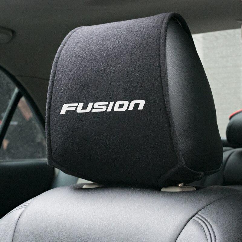 1 Uds. Reposacabezas de coche caliente para Ford Fusion Fiesta Mk5 Mk6 2008 2017 Accesorios Estilo de coche