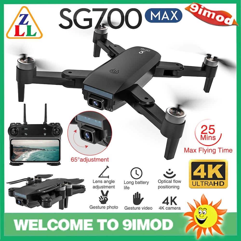 عالية الجودة ZLL SG700 ماكس FPV نظام تحديد المواقع 5G واي فاي 4K HD كاميرا مزدوجة 25 دقيقة وقت الطيران بدون فرش RC الطائرة بدون طيار RTF