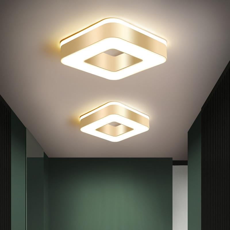 Lámpara De Techo De estilo nórdico, accesorio De iluminación Led para pasillo,...