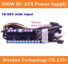 X300, 300w sortie, 16-24v large entrée DC-DC ATX alimentation (VR prêt Pico PSU) MINI ITX DC à voiture ATX PC Module dalimentation GTX1070