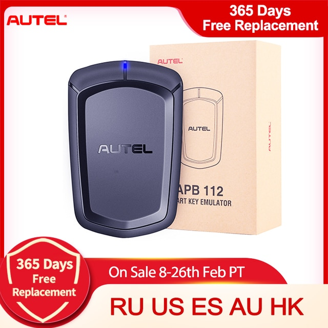 Умный ключ симулятор Autel APB112 работает для Autel MaxiIM IM608/ IM508