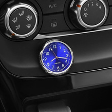 Car Clock Watch Auto Electronic Quartz Watch Car Decoration Interior Parts Car Electric Luminous Min
