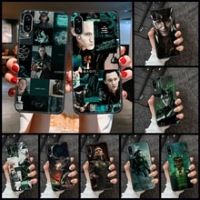 Чехол для телефона Loki для Huawei Honor 6 7 8 9 10 10i 20 A C X Lite Pro Play, черный художественный чехол, трендовые водонепроницаемые чехлы с рисунком