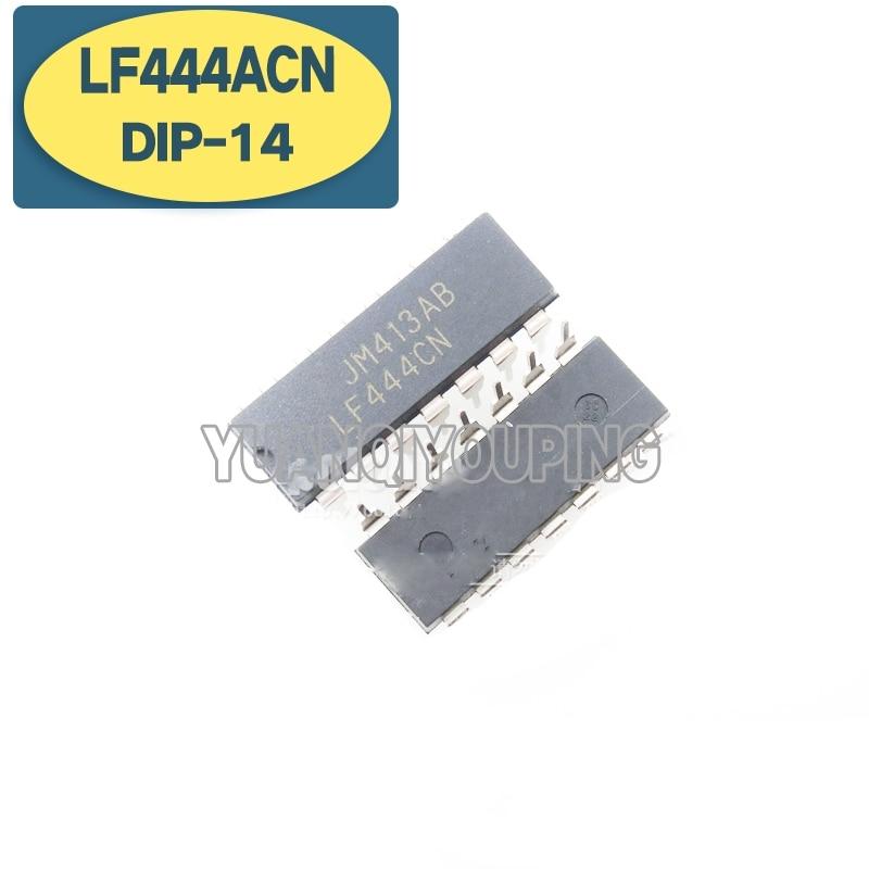 10 шт., усилитель LF444ACN DIP-14 LF444 DIP LF444CN DIP14