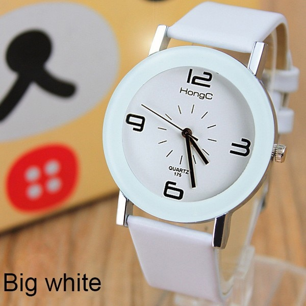 Fasion Horloges Paar Mode Dames Quartz Horloge Yazole Student meisje Klok Eenvoudig Ontwerp Horloge feminio Relogio montre femm