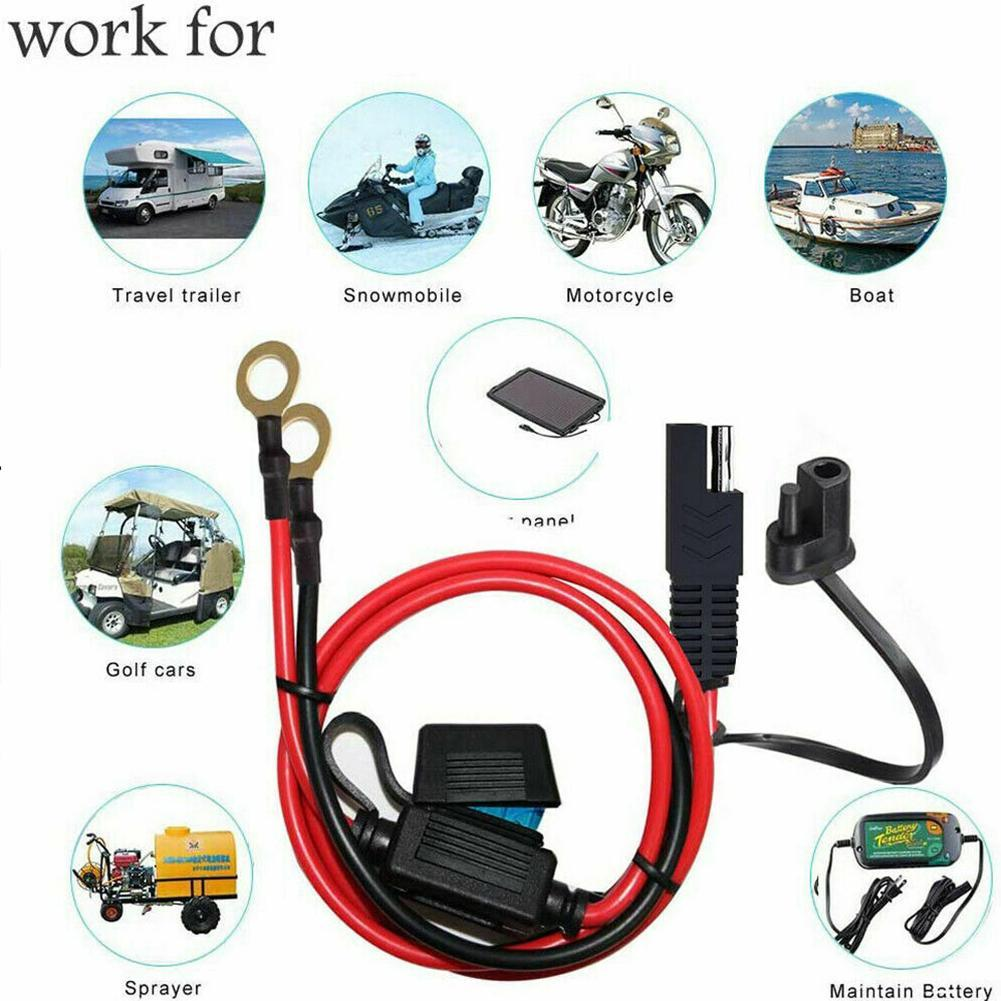 12V Ring Terminal Sao To O-ring Connector Extension Plug Specification SAE Cable Can Cable Cable Customized Be Connector Y6W2
