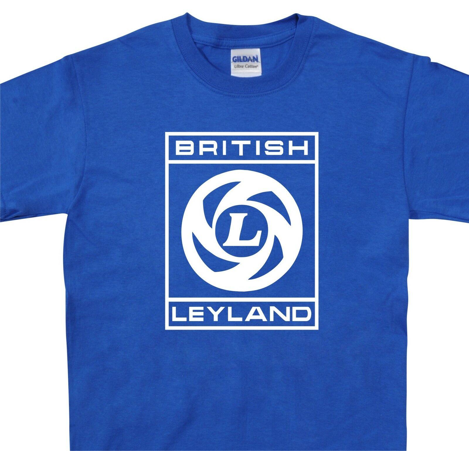 Britânico leyland t camisa mini metro austin princesa allegro marina até 5xl tamanho