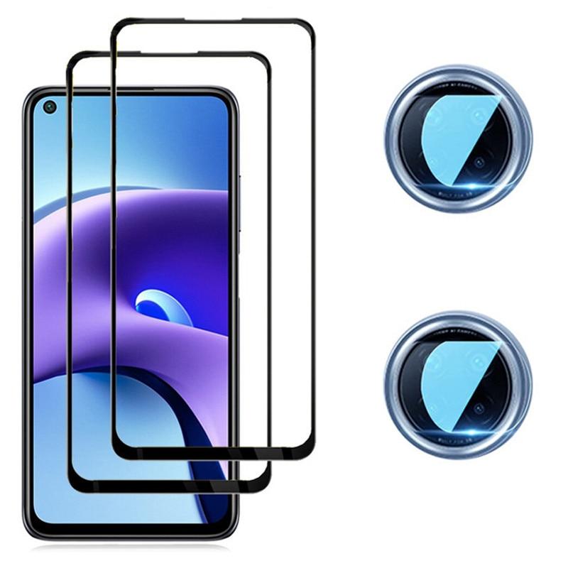 Redmi-9 T, Cristal Templado para Redmi Note 9T 9 pro Protector de...