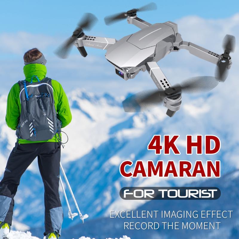 Útil da Bateria Dobrável sem Fio Nova Edição Limitada Maior Vida Drone Aéreo Profissional hd 1080p – 4k Wifi 2021 E98