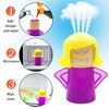 Angry Mama Microwave Cleaner Household Oven Cleaner Steam Microwave Cleaner Home Appliances Kitchen Refrigerator Cleaning.